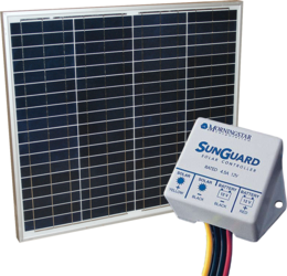 Alte 50w Module With Sunguard 4 5a Pwm Charge Controller Kit