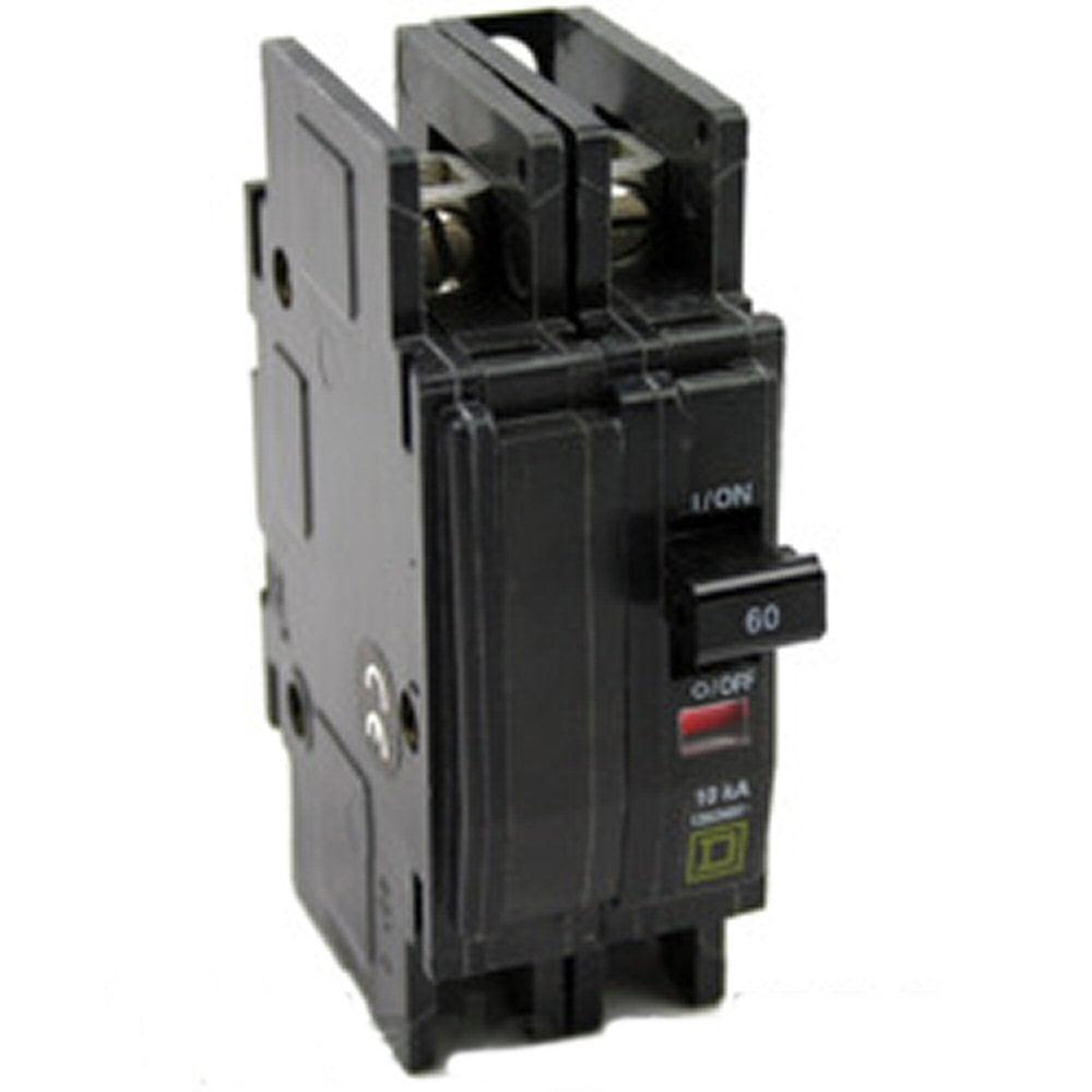 Square D QOU260 60 Amp 2-Pole Circuit Breaker on