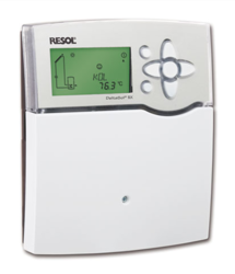 RESOL DeltaSol BX Plus Differential Temperature Controller with (5) Pt1000 Sensors