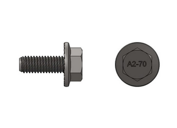 S-5! Stainless Steel M8 Bolt 20mm