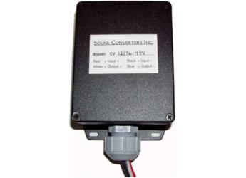 Solar Converters Cv12 36 4pv 12v Solar Panel 36v