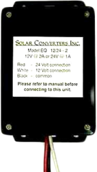 Solar Converters EQ 24/48-2A, DC to DC, Up/Down Converter