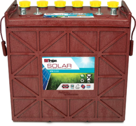 Trojan SPRE 12 225 (J200-RE 12V) Solar Premium Line Flooded Battery