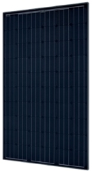 SolarWorld 295 Watt Solar Panel, Sunmodule SW295 Black Mono