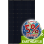 Seraphim Solar 300 Watt Solar Panel, Mono, All Black