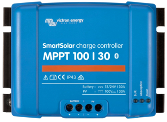 Victron Energy Smart Solar MPPT Charge Controller 100V 30A, Bluetooth Built-in
