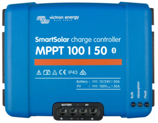 Victron Energy Smart Solar MPPT Charge Controller 100V 50A, Bluetooth Built-in