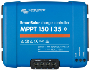 Victron Energy Smart Solar MPPT Charge Controller 150V 35A, Bluetooth Built-in