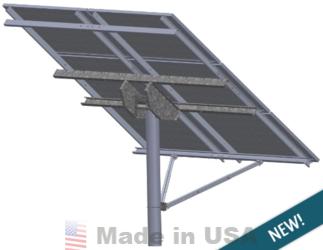 Tamarack Solar Top Of Pole Mounts For Large Solar Panels