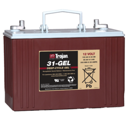 Trojan 31-GEL 12V, 102AH (20HR) Gel Battery