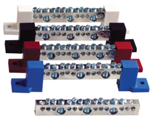 Outback Terminal Busbar Kit W/Blue Insulators