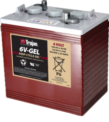 Trojan 6v Gel Deep Cycle Gel Battery Alte