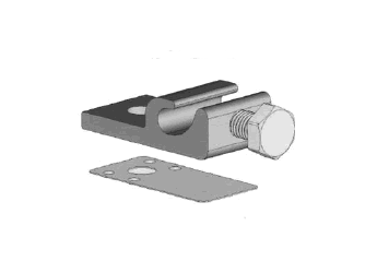Wiley Weeb Grounding Lug With Weeb 8 0 Clip