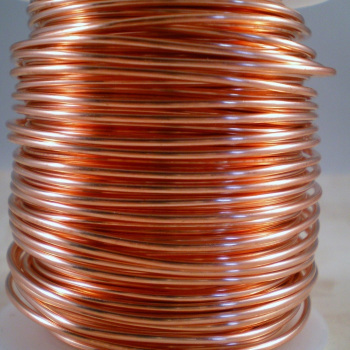 Bare Copper Wire by the Foot, 6AWG,solid | altE