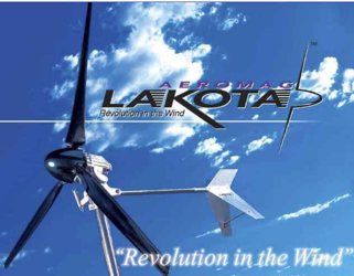 Lakota 900W 24V Wind Turbine Land No Controller
