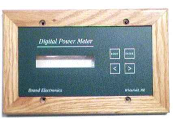 Whole Home/Inverter/Generator Power Meter, 40A, 240VAC