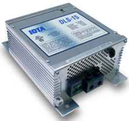 IOTA Engineering DLS-15 15A,12V AC Converter/Charger