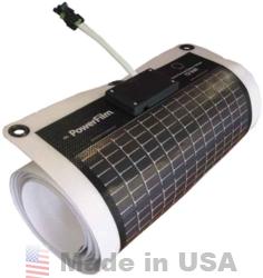 Powerfilm 5 Watt 12 Volt Thin Film Flexible Solar Panel