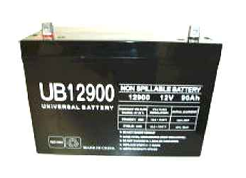 Universal Ub12900 12V, 90Ah (20Hr) Sealed Agm Batt