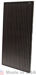 Isofoton ISF-250 250 Watt Mono Solar Panel, Black