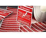 NEC Compliant Safety Labels