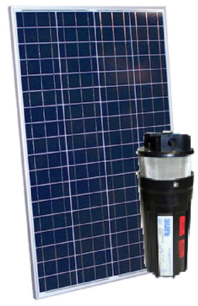 Shurflo 9325 Submersible Pump and altE 100 Watt 24V Solar