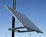 Side of Pole Solar Panel Mounts