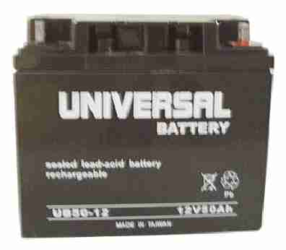 Universal UB12500 12V, 50Ah (20HR) Sealed AGM