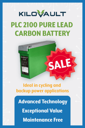 KiloVault Lead Carbon Battery