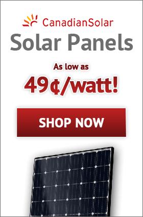 CanadianSolar Solar Panels!