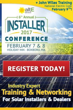 altE Installer Conference 2017