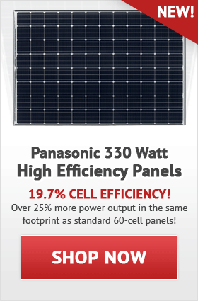 Panasonic Solar Panels!