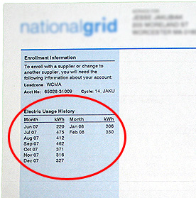 Electricity Utility Bill