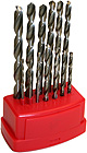 Unibit and multiple drill bits (wood, metal, masonry)